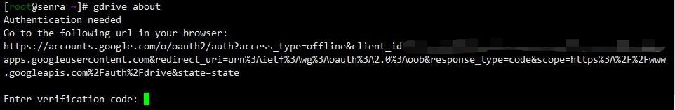 利用Gdrive将网站备份文件同步到谷歌云盘!